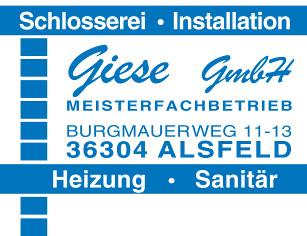 Schlosserei und Sanitär Giese Alsfeld Logo